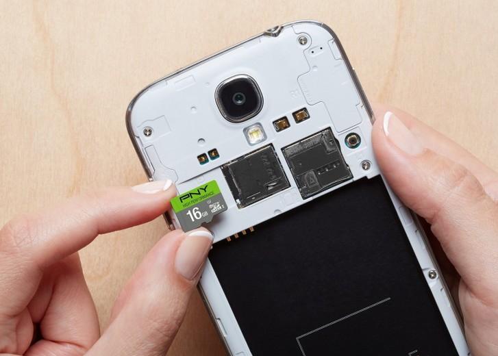 Используйте MicroSD