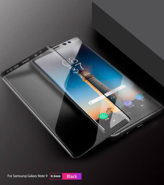 3D закаленное стекло Galaxy Note 9 от Benks