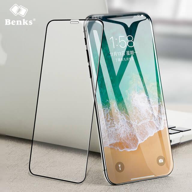 3D защитное стекло Бэнкс для айфон хс