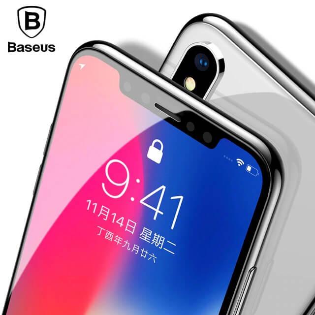 Защитное стекло Baseus на iPhone Xs Max