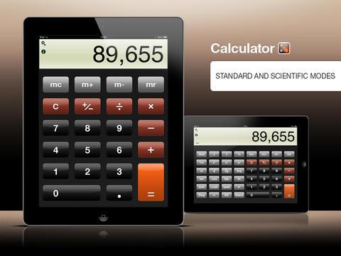 Обзор и выбор лучших калькуляторов для iPad