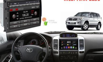 Лучшие магнитолы «Тесла» для Toyota Land Cruiser Prado 120