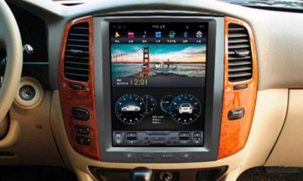 ТОП-3 лучших магнитолы Тесла на Toyota Land Cruiser 100