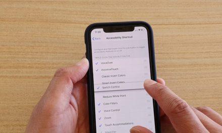 Универсальный доступ на iPhone: как включить?